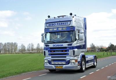 Bebo Laminaat vrachtwagen